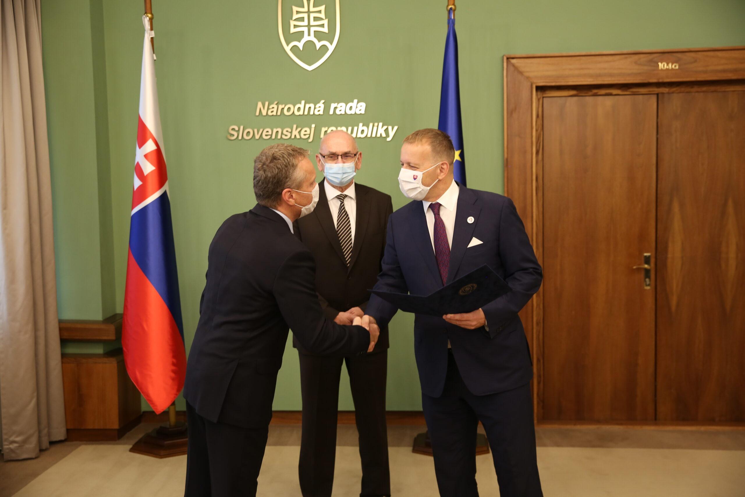 Boris Kollár, Karol Mitrík a Ľubomír Andrassy